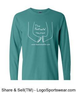 Adult Long Sleeve in Seafoam Design Zoom